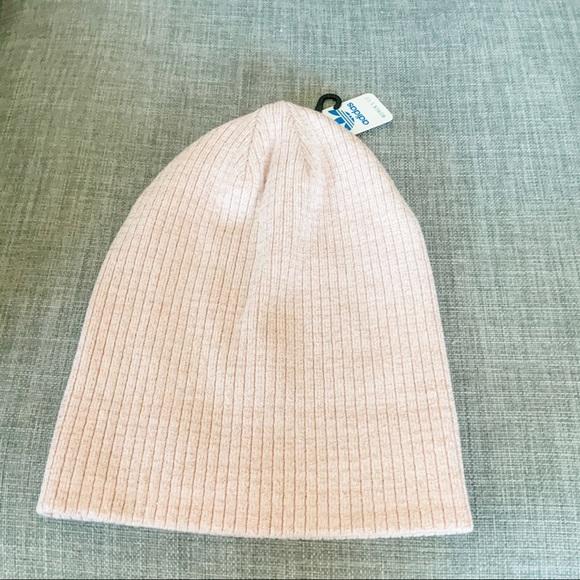 NWT Adidas Rose Gold Beanie Hat